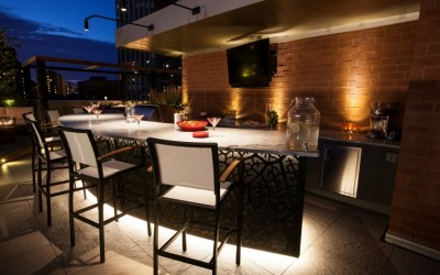 Revelry at the Penthouse